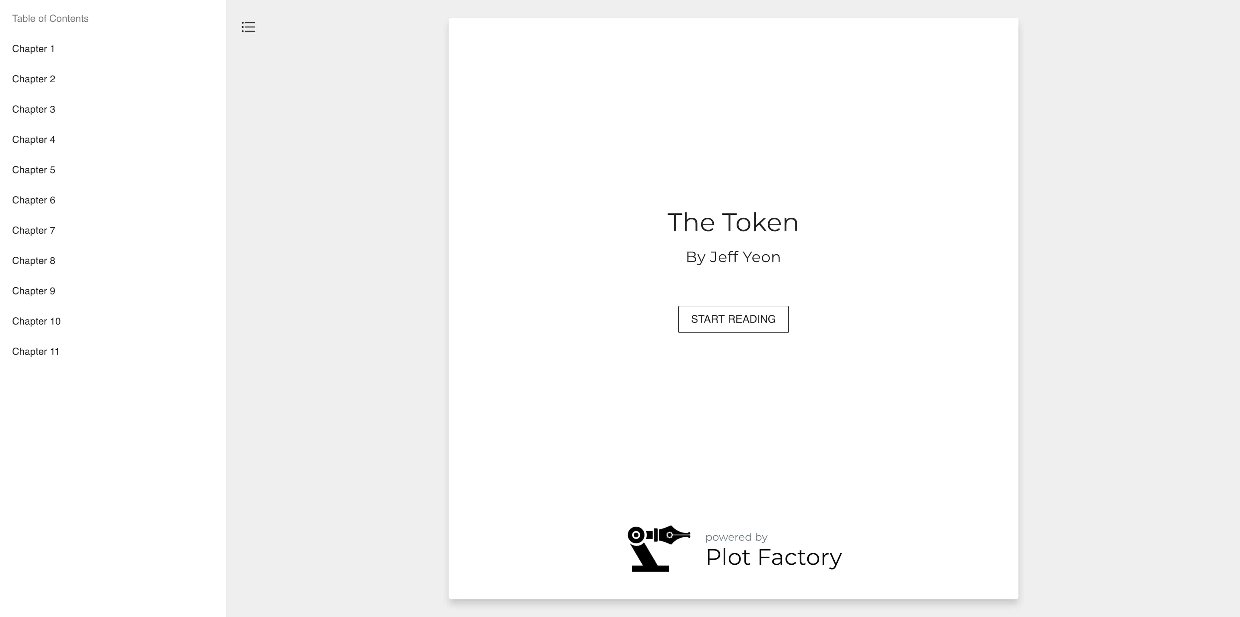 Plot Factory Home Page
